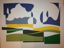 Paper Landscape IV