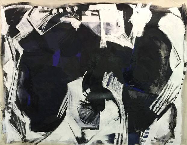 #oilpainting #paint# art #tedstanuga #chicagoart #interiors #architecture #interiordesign #abstract #intuitive #drawing #charcoal, by Ted Stanuga, painter fine art, expressionist.  Interior design corporate, curater gallery museum. Ted Stanuga fine artist
