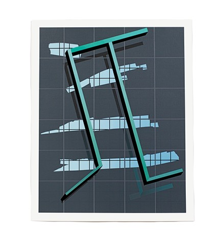 Matthew Shelley Walker 1 New Work Painting Drawing Grid
