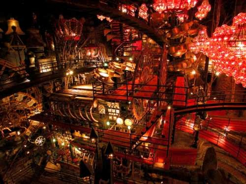 House on the Rock- Tribute to Collecting and Obsessive Compulsive Preservation of the Past