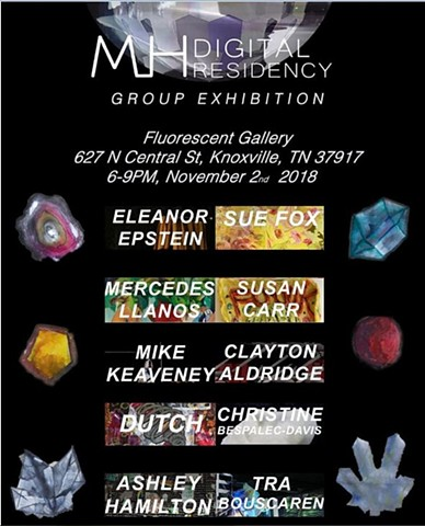 Mineral House Media Exhibition at Fluorecent Gallery, Knoxville