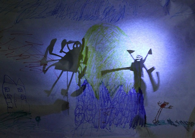 Shadow Puppets- Lillstreet Art Center 5-8 year old class