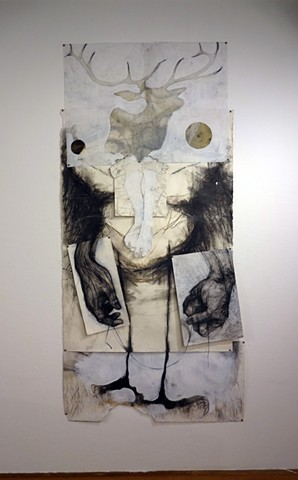 Accretions - works on paper