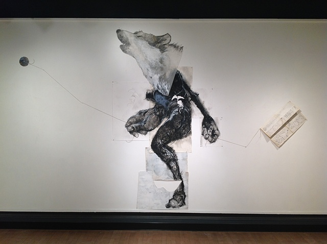 Where-wolf (Fairbanks Gallery, Oregon State University)