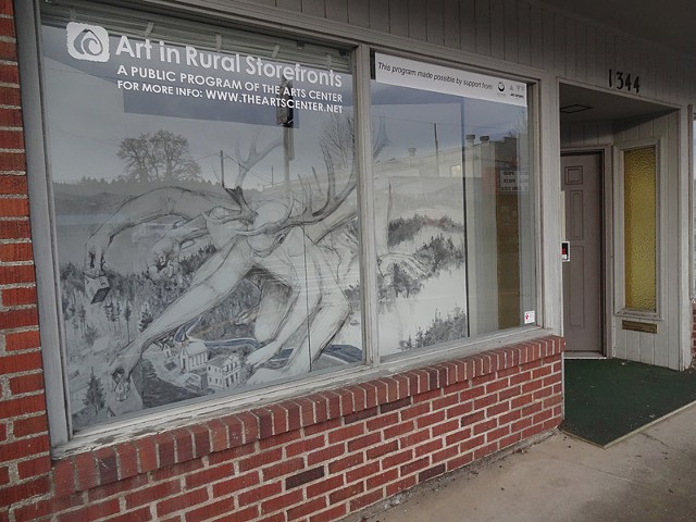Art in Rural Storefronts