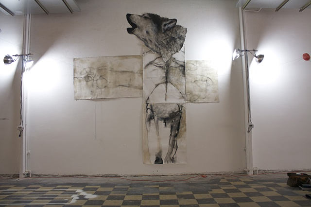 Where-wolf, project space, Salem, Oregon.