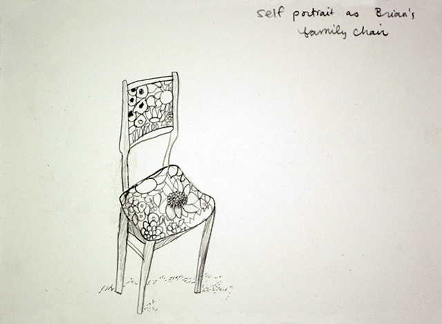 self portrait as  chair