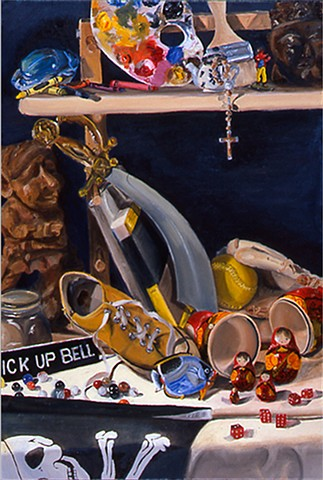 C. Bell Vanitas Still Life Beginning Painting