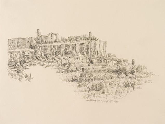 Orvieto Cliffs