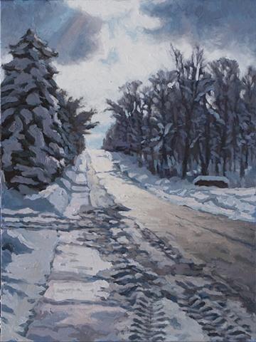 Route 700 Sunlight & Snow
