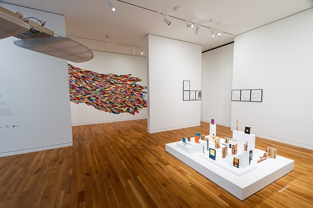 installation view, Columbus Museum of Art