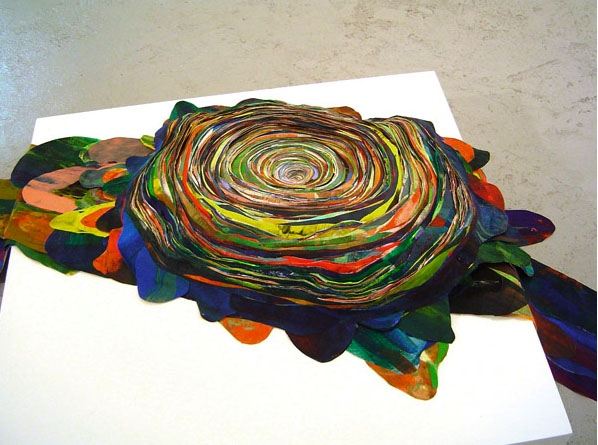 Ripple, installed at Lisa Boyle Gallery, 2007