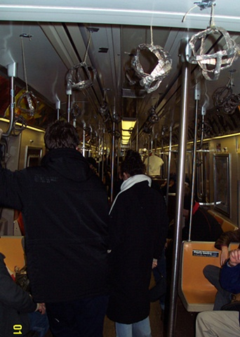Third Rail: An Exhibition on the R Train, Installation View