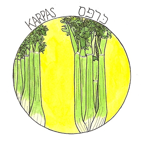Karpas- Eat a green vegetable