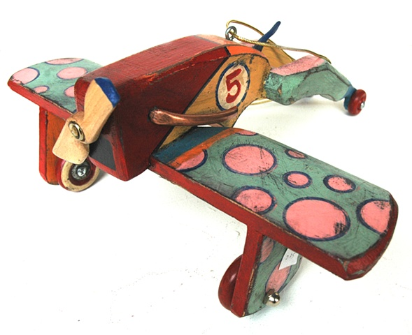 Spotted Monoplane - SOLD
