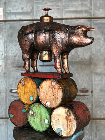 """Salt Pork (Piggy Bank Series)"""