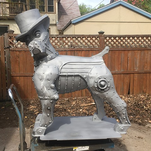 Top Dog Progress - after sandblasting