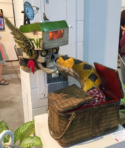 Second Place for sculpture at the Minnesota State Fair!