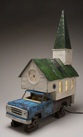 'The House on the Rock' (Church Series) - SOLD