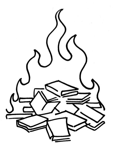 Where Books are Burned, Eventually People will be Burned