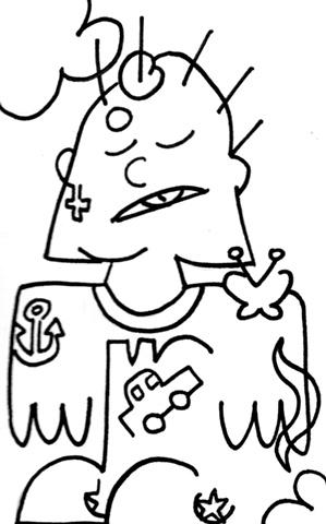 Punk Hieroglyph