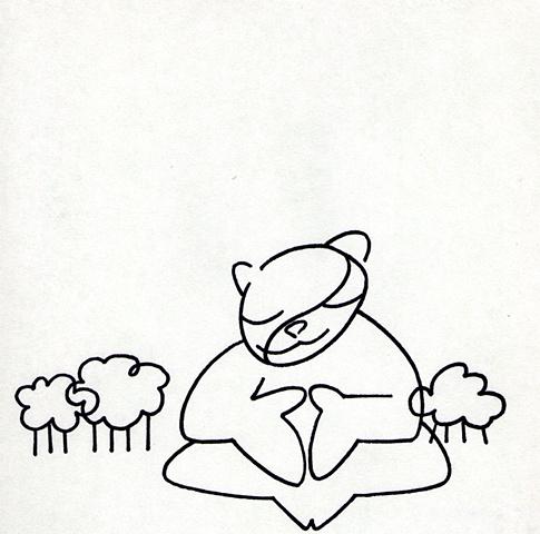 Meditating Animal