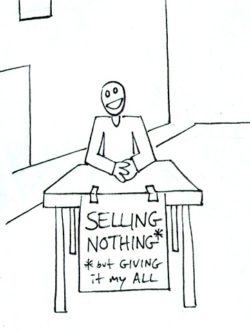 Selling Nothing