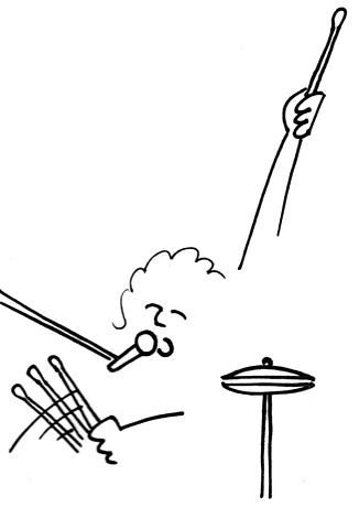 Dramatic Drummer