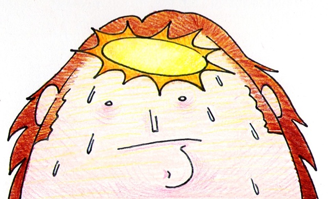 It Felt Like a Sun in His Head