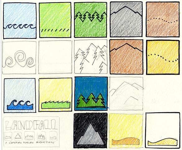 Landfall Game Tiles #1