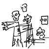 Child's Drawing of the Zombie Apocalypse
