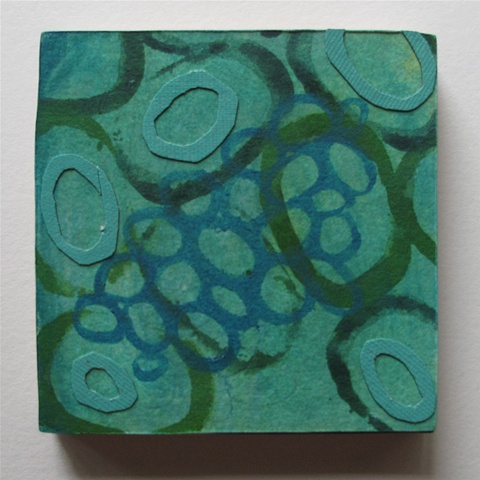 Blue Green Cell