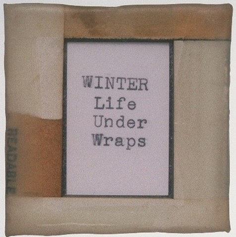 Winter Under Wraps Detail