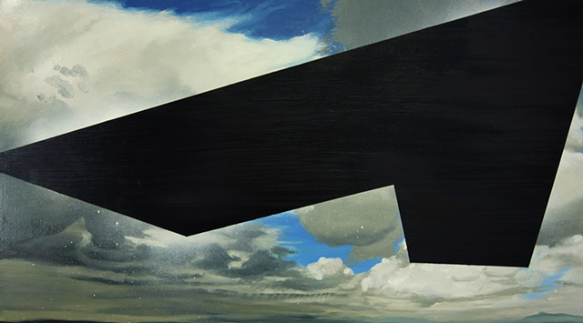 Untitled (Black Triangle F-117)