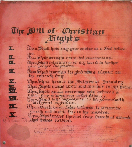 Bill of the Christian Rights