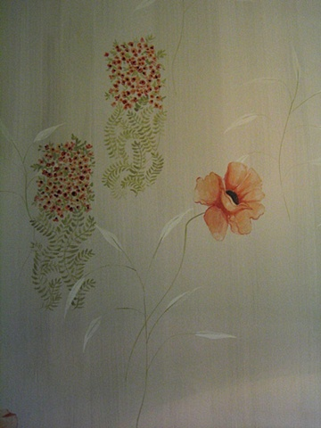 "Painted ""Wallpaper"" detail 3"