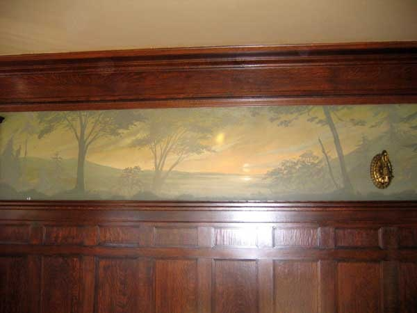 Arts and Crafts Dining Room mural