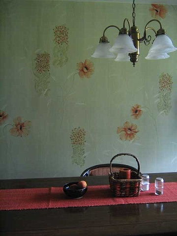 "Painted Kitchen ""Wallpaper"""