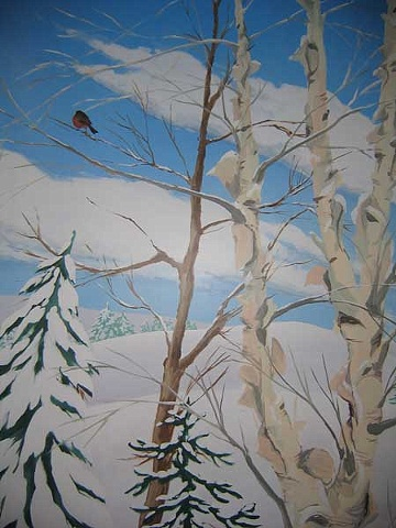 Four Season Mural, Winter