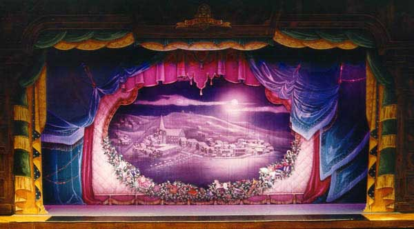 Nutcracker Show Curtain