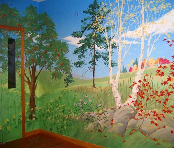 Four Season Mural, Summer into Fall
