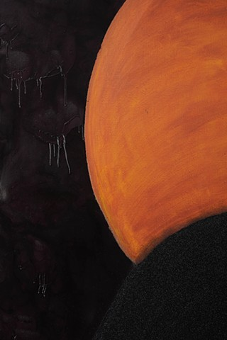 Detail, Untitled (Black Sun)