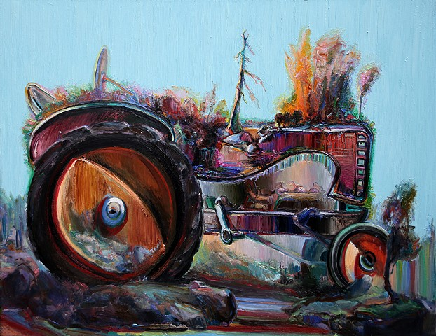 Tractor Lanscape