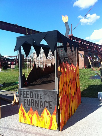 Feed the Furnace : Collaboration with Kiki Sciullo