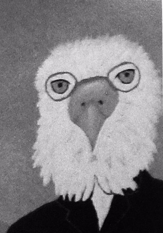 EAGLE   BLACK-WHITE