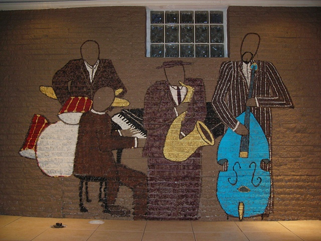 Jazz Basement Wall