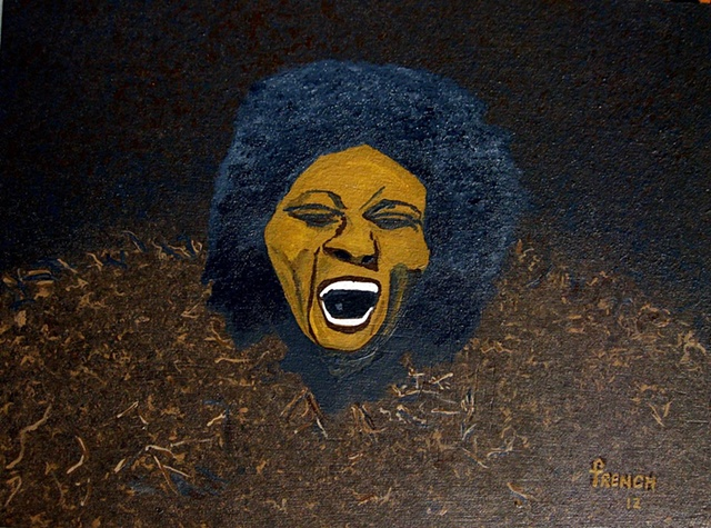 Album Cover Maggot Brain