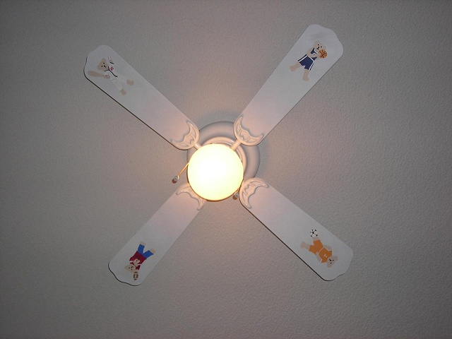Baby Room Ceiling Fan