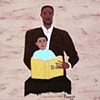 Man and Child with Bible