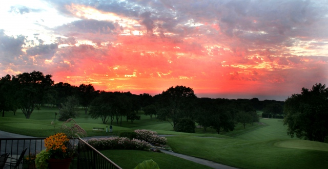 The Biltmore Sunset